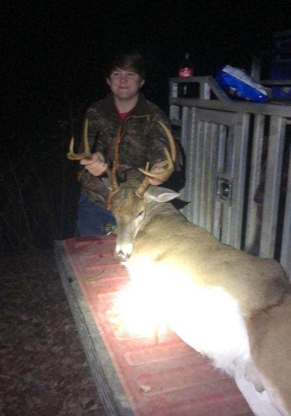 M J McKinnon killed this buck in Atkinson County