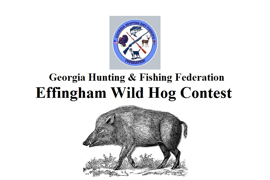 Effingham Wild Hog Contest May 20th 2017