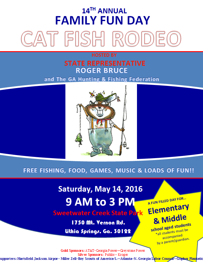 14th Annual Family Fun Day - Cat Fish Rodeo