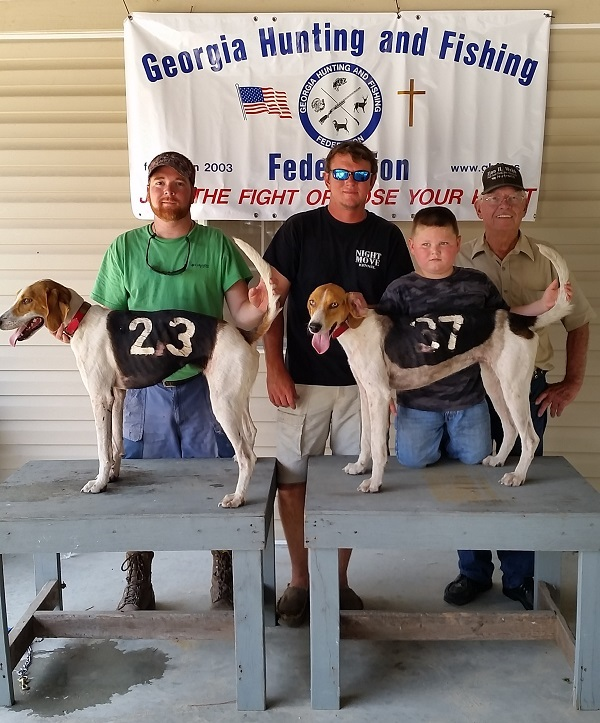 5th place #37 Night Moves Kennels, 8th place #23 Red's Big Girl