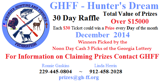 The 31 Day December 2014 Raffle