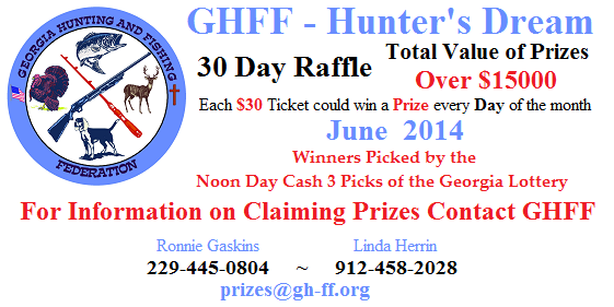 The 30 Day June 2014 Raffle