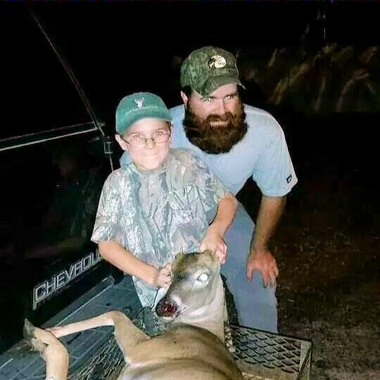 Hank Turner 8, harvested spike, first buck of his season on 10/14/14