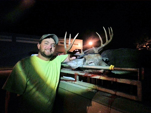 Justin Beasley, Atkinson County killed this nice 10pt buck