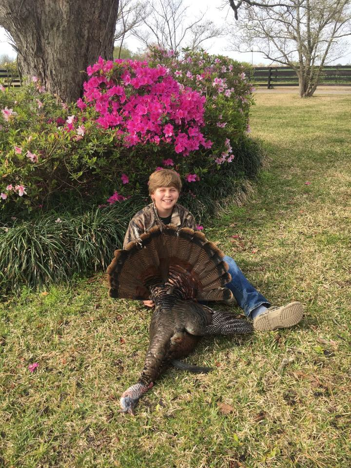 Walker Smith got his first gobbler in Coffee County Georgia