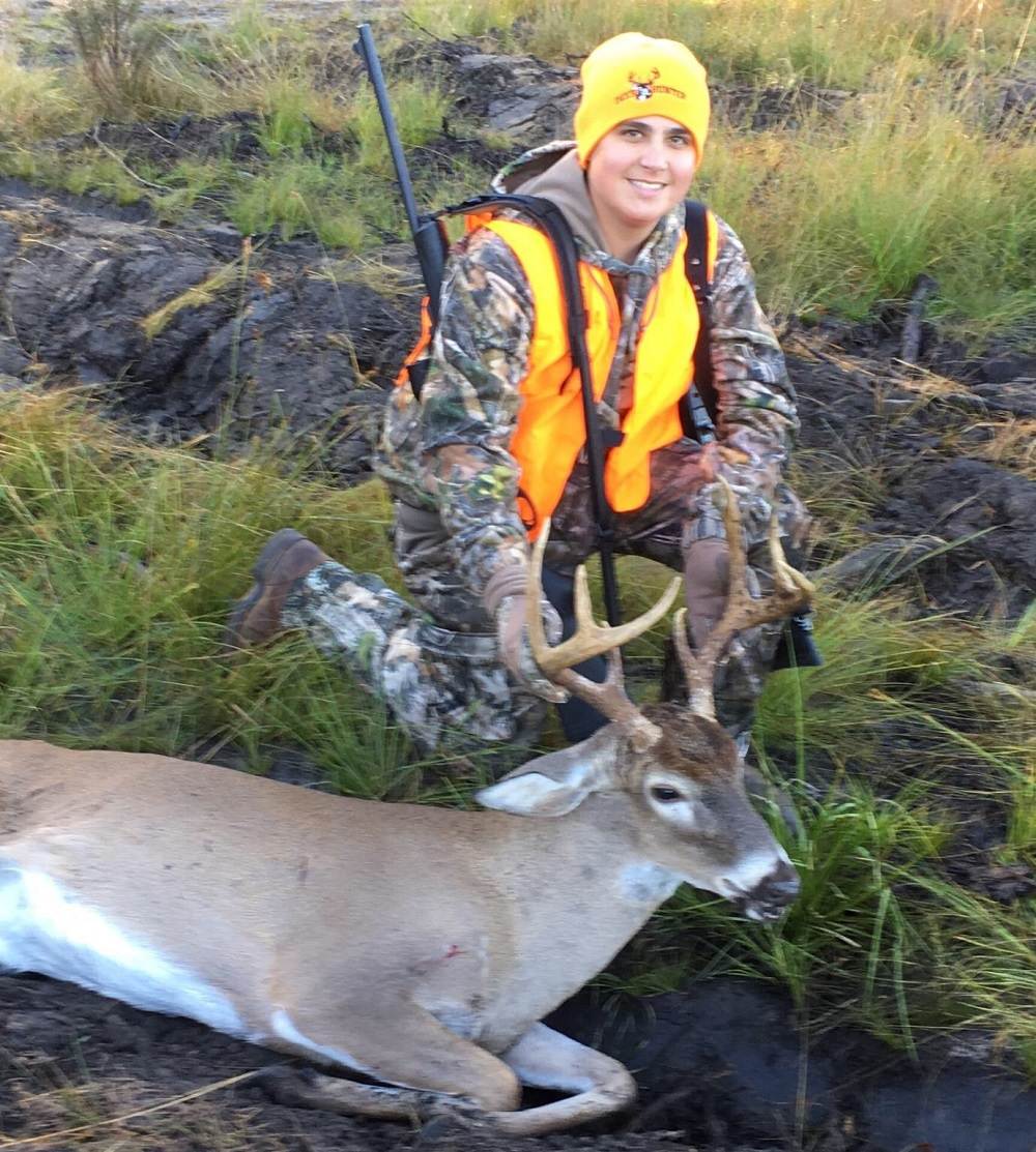 Weston Gage Johns 15, killed this Fine Buck in Berrien County on November 25th, 2017