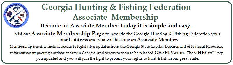 Join the Georgia Hunting & Fishing Federation Today